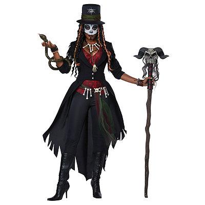 Steampunk Dresses | Women & Girl Costumes Adult Magic Voodoo Costume $69.99 AT vintagedancer.com
