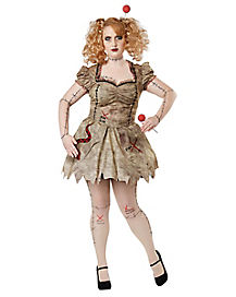 Adult Voodoo Doll Plus Size Costume