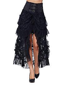 Black Gothic Skirt
