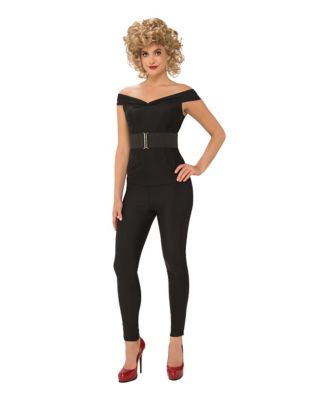 1950s Costumes- Poodle Skirts, Grease, Monroe, Pin Up, I Love Lucy Adult Bad Sandy Costume - Grease by Spirit Halloween $49.99 AT vintagedancer.com
