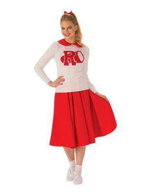 Red Polka Dot Shirt Womens