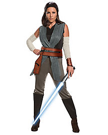 adult rey costume deluxe star wars episode 8