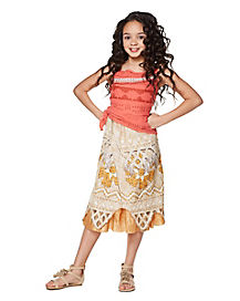 Kids Moana Costume - Disney Moana
