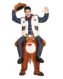 adult piggyback horse costume