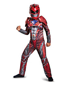Kids Red Ranger Costume - Power Rangers