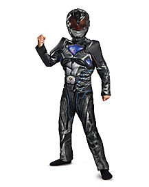 Kids Black Ranger Costume - Power Rangers