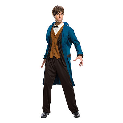 Vintage Men's Costumes – 1920s, 1930s, 1940s, 1950s, 1960s Adult Newt Scamander Costume Deluxe - Fantastic Beasts and Where to Fi $54.99 AT vintagedancer.com