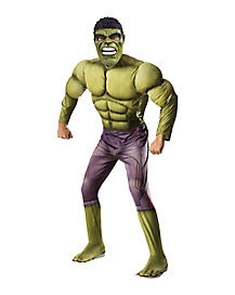 Adult Hulk Costume - Marvel Comics