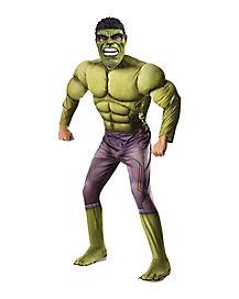 Adult Hulk Costume - Marvel Comics