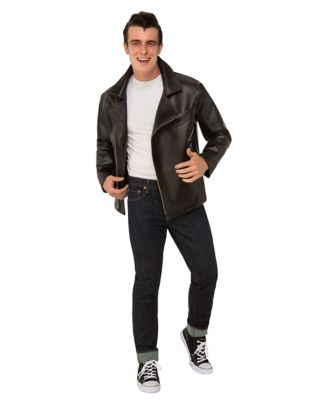 1950s Men's Costumes: Greaser, Elvis, Rockabilly, Prom T-Bird Jacket - Grease by Spirit Halloween $49.99 AT vintagedancer.com