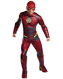 Adult The Flash Plus Size Costume - DC Comics