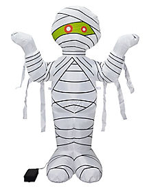 4 Ft Light Up Mummy Inflatable - Decorations