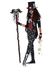 Tween Charming Voodoo Princess Costume