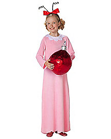 Kids Cindy Lou Who Costume Dr Seuss