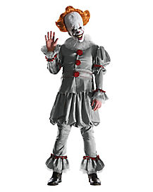 Adult Pennywise the Clown Costume Theatrical - IT