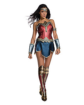Adult Wonder Woman Costume - DC Comics