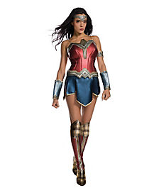 Adult Wonder Woman Costume - DC Comics  sc 1 st  Spirit Halloween : best halloween costumes for ladies  - Germanpascual.Com