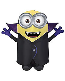 8 Ft Minion Gone Batty Inflatable Decorations - Despicable Me