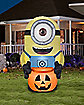 8.4 Ft Minion with Pumpkin Inflatable Decoration - Despicable Me