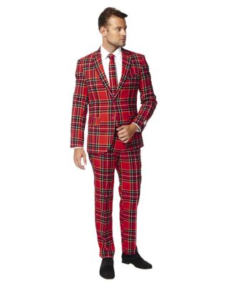 1950s Style Mens Suits | 50s Suits Adult Lumberjack Suit by Spirit Halloween $99.99 AT vintagedancer.com