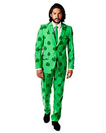 Adult Four Leaf Clover St. Patrick's Day Suit