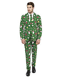 Adult Santaboss Ugly Christmas Suit