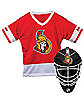 NHL Ottawa Senators Uniform Set