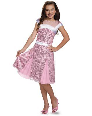 1920s Children Fashions: Girls, Boys, Baby Costumes Kids Audrey Coronation Dress Deluxe - Descendants by Spirit Halloween $39.99 AT vintagedancer.com