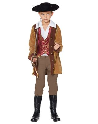 Steampunk Kids Costumes | Girl, Boy, Baby, Toddler Kids Nikolai The Pirate Costume by Spirit Halloween $99.99 AT vintagedancer.com