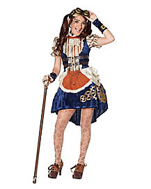 Tween Steampunk Fashion Dress Costume - The Signature Collection