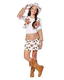 Kids Rhinestone Cowgirl Costume