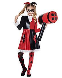 Kids Harley Quinn Costume Theatrical - DC Comics