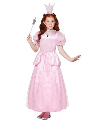Kids Glinda The Good Witch Costume - The Wizard of Oz  sc 1 st  Spirit Halloween & Kids Glinda the Good Witch Costume Deluxe - The Wizard of Oz ...