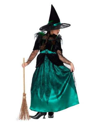 1940s Children's Clothing: Girls, Boys, Baby, Toddler Kids Wicked Witch Costume - The Wizard Of Oz by Spirit Halloween $89.99 AT vintagedancer.com