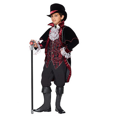 Victorian Costumes: Dresses, Saloon Girls, Southern Belle, Witch Kids Vampire of Versailles Costume - The Signature Collection $179.99 AT vintagedancer.com
