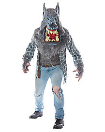 Adult Big Mouth Werewolf Costume - Deluxe