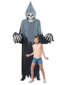 adult towering terror grim reaper costume deluxe - Halloween Hanging Decorations