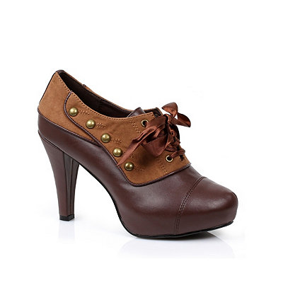 Victorian Steampunk Clothing & Costumes for Ladies Steampunk Heels $79.99 AT vintagedancer.com