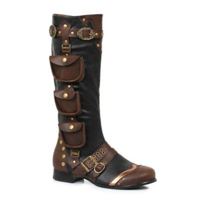 Retro Boots, Granny Boots, 70s Boots Steampunk Boots  - Size 1213 - by Spirit Halloween $89.99 AT vintagedancer.com