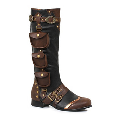 Victorian Steampunk Clothing & Costumes for Ladies Steampunk Boots $89.99 AT vintagedancer.com