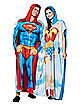 Superman and Wonder Woman Twinsies Pajama Costumes 2 Pack - DC Comics