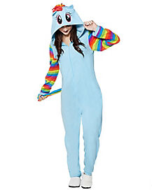 Rainbow Dash Pajama Costume - My Little Pony