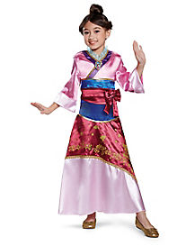 Kids Mulan Costume Deluxe u2013 Disney  sc 1 st  Spirit Halloween & Best Disney Princess Halloween Costumes for 2018 - Spirithalloween.com