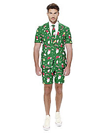 Adult Santaboss Ugly Christmas Summer Suit