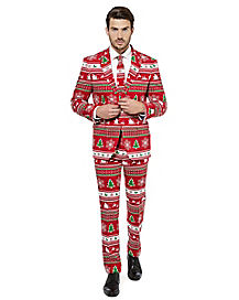 Adult Winter Wonderland Ugly Christmas Suit
