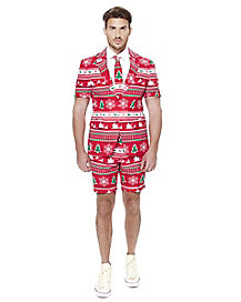 Adult Winter Wonderland Ugly Christmas Summer Suit