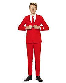 Teen Red Devil Suit