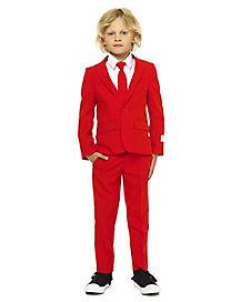Kids Red Devil Suit