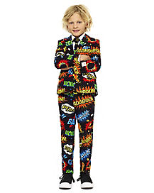 Kids Comic Book Party Suit