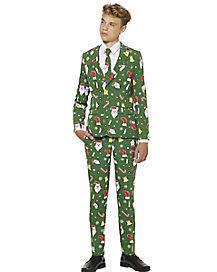 Teen Santaboss Suit